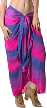 Load image into Gallery viewer, la-leela-cover-up-swim-pareo-beach-sarong-bikini-cover-up-tie-dye-78x43-pink_4453
