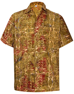 la-leela-men-casual-beachwaer-cotto-shortsleeve-hawaiian-men-shirt-for-aloha-tropical-beach-front-pocket-golden-brown