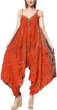 Load image into Gallery viewer, la-leela-beach-dress-tie-dye-womens-work-casual-stretchy-osfm-14-16-orange_3469