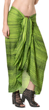 Load image into Gallery viewer, la-leela-swim-beach-dress-beach-wear-sarong-tie-dye-78x43-green_4493