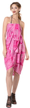 Load image into Gallery viewer, la-leela-bathing-swimsuit-women-sarong-bikini-cover-up-tie-dye-78x43-pink_4530