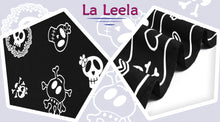 Load image into Gallery viewer, La Leela Soft Light Long Swim Women's Skull Halloween Costume Swimsuit Pareo Cover Ups Beach Sarong Halloween Black_B928