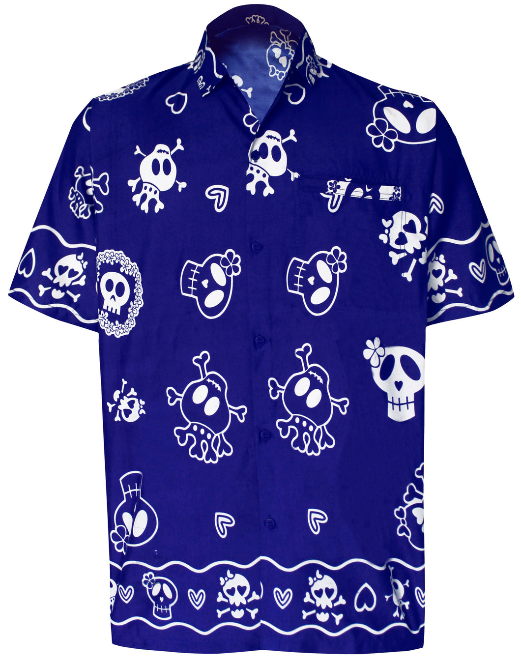 la-leela-regular-size-beach-hawaiian-shirt-for-aloha-tropical-beach-front-pocket-short-sleeve-for-men-blue
