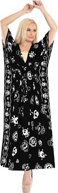 la-leela-likre-printed-skull-long-caftan-dress-women-printed_kaftan-black