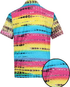 la-leela-men-casual-wear-cotton-hand-printed-multi-color-hawaiian-shirt-size-s-xxl