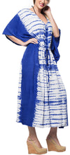 Load image into Gallery viewer, la-leela-lounge-rayon-tie_dye-long-caftan-womens-royal-blue_1381-osfm-14-32w-l-5x