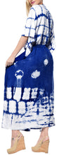 Load image into Gallery viewer, la-leela-rayon-tie_dye-caftan-beach-dress-royal-blue_1397-osfm-14-32w-l-5x