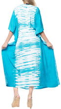 Load image into Gallery viewer, la-leela-lounge-rayon-tie_dye-long-caftan-dress-women-blue_1385-osfm-14-32w-l-5x
