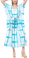 Load image into Gallery viewer, la-leela-rayon-tie_dye-caftan-beach-dress-loose-gown-women-blue_1410-osfm-14-32w
