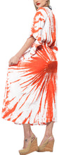 Load image into Gallery viewer, la-leela-rayon-tie_dye-caftan-beach-dress-vacation-white_1392-osfm-14-22w-l-3x