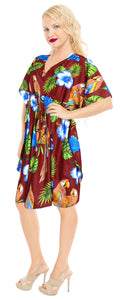 la-leela-likre-printed-short-caftan-beach-dress-maroon_4088-osfm-16-28w-xl-4x-maroon_b635