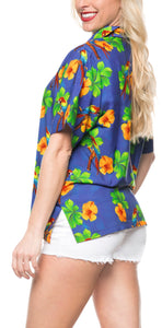 la-leela-womens-beach-casual-hawaiian-blouse-short-sleeve-button-down-shirt-blue-drt153