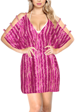 la-leela-bikni-swimwear-soft-fabric-printed-beachwear-loose-cover-up-OSFM 18-20W [XL- 2X]-Pink_B568