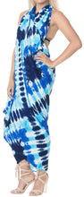 Load image into Gallery viewer, la-leela-rayon-aloha-bali-cover-up-pareo-sarong-tie-dye-78x39-blue_5253
