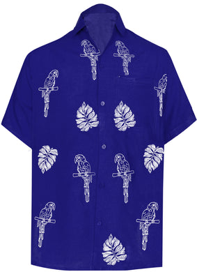 la-leela-mens-beach-hawaiian-casual-aloha-button-down-short-sleeve-shirt-Blue_W859