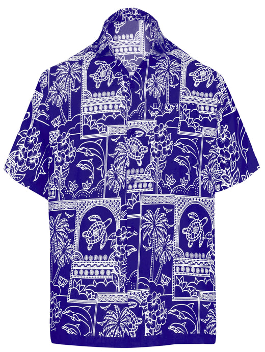 la-leela-shirt-casual-button-down-short-sleeve-beach-shirt-men-aloha-pocket-Blue_W468