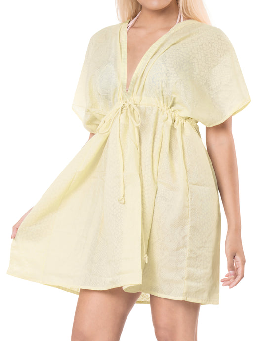 la-leela-bikni-swimwear-chiffon-solid-hawaiian-beach-cover-up-Cream_B134