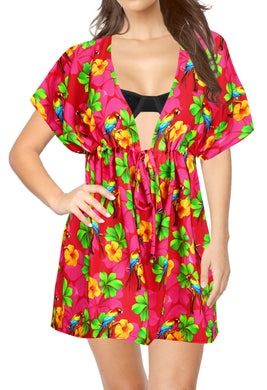 la-leela-bikni-swimwear-chiffon-digital-hd-print-tunic-vintage-cover-up-Pink_B15