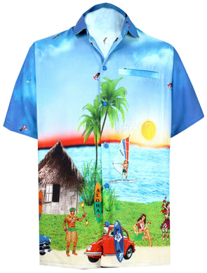 la-leela-shirt-casual-button-down-short-sleeve-beach-shirt-men-aloha-pocket-Shirt-Blue_W598