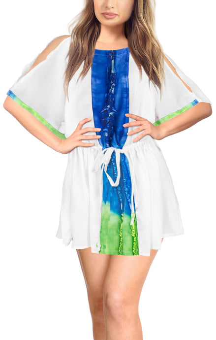 la-leela-bikini-swim-beach-wear-swimsuit-cover-ups-women-caftan-dress-solid-OSFM 14-20W [L- 2X]-Ghost White_A954