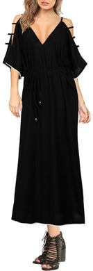 la-leela-lounge-rayon-solid-long-caftan-nightgown-women-OSFM 14-20W [L- 2X]-Halloween Black_A923