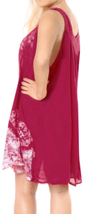 la-leela-rayon-tie-dye-casual-strapless-tank-cover-up-pink-20-plus-size-pink_a861