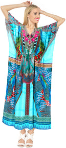 la-leela-soft-digital-womens-beach-wear-maxi-caftan-top-multi-OSFM 14-22W [L- 3X]-Multicolor_A791