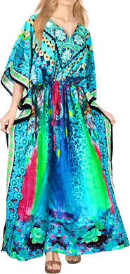 la-leela-soft-digital-womens-beach-wear-maxi-caftan-top-multi-OSFM 14-22W [L- 3X]-Multicolor_A789