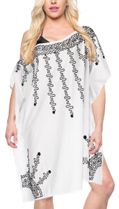 la-leela-bikini-swim-beach-wear-swimsuit-cover-ups-women-caftan-dress-solid-OSFM 8-20W [M- 2X]-Ghost White_A717