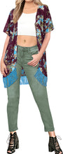Load image into Gallery viewer, LA LEELA Women's Summer Boho Pants Hippie Clothes Yoga Outfits Violet_A680