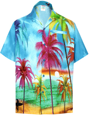 la-leela-shirt-casual-button-down-short-sleeve-beach-shirt-men-aloha-pocket-Shirt-Blue_W607