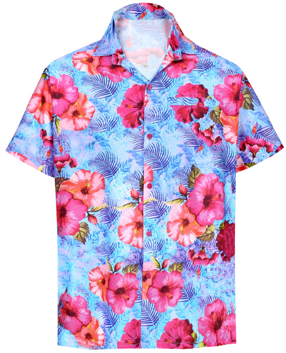 la-leela-shirt-casual-button-down-short-sleeve-beach-shirt-men-aloha-pocket-Shirt-Blue_W616