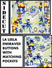 Load image into Gallery viewer, la-leela-shirt-casual-button-down-short-sleeve-beach-shirt-men-aloha-pocket-Beige_AA111