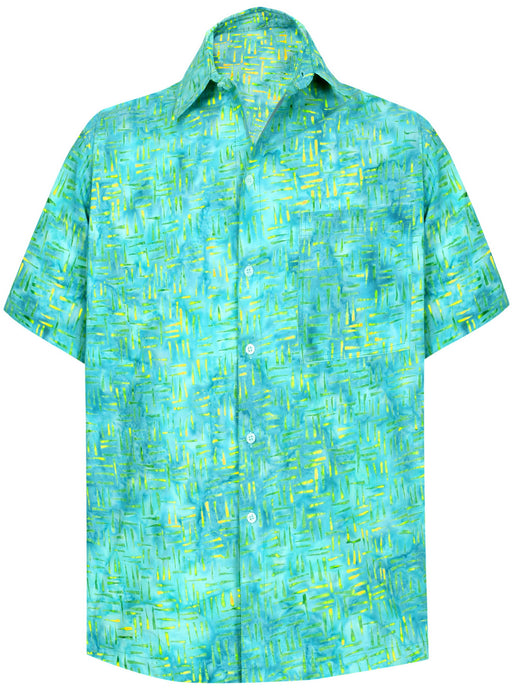 la-leela-men-casual-wear-cotton-hand-print-batik-blue-size