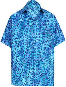la-leela-men-casual-wear-cotton-hand-batik-printed-blue-hawaiian-aloha-shirt-size-s-xxl