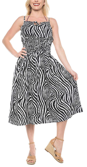 la-leela-soft-printed-beach-halter-dresses-long-digital-black-736-one-size