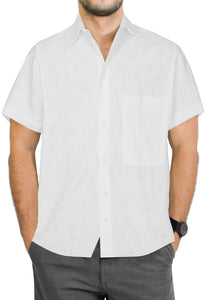la-leela-men-casual-wear-cotton-hand-printed-white-hawaiian-shirt-size-s-xxl