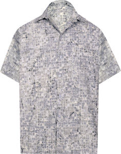 la-leela-men-casual-men-wear-summer-cotton-hand-print-batik-grey-aloha-size-s-xxl