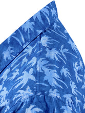 Load image into Gallery viewer, la-leela-men-casual-wear-cotton-palm-tree-hand-printed-royal-blue-hawaiian-shirt-size-s-xxl