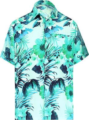 la-leela-shirt-casual-button-down-short-sleeve-beach-shirt-men-aloha-pocket-Blue_AA232