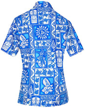 Load image into Gallery viewer, women-hawaiian-shirt-beach-top-tank-aloha-blouses-casual-holiday-collar-boho