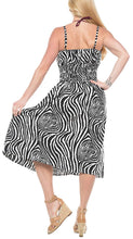 Load image into Gallery viewer, la-leela-soft-printed-beach-halter-dresses-long-digital-black-736-one-size