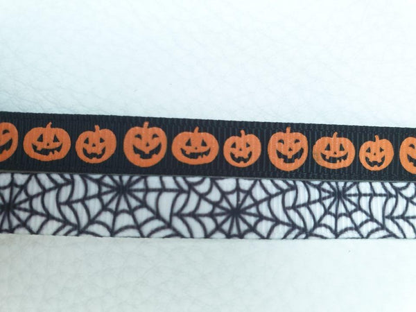 Halloween Patterned  XS 13mm Adjustable Clip Collar