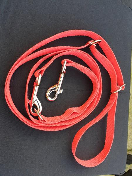 19mm Patterned Double Ended Dog Training Lead