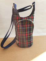 Bottle carrier cross body bag