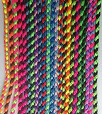 "35"" Chunky Braided Paracord Dog Lead Multi Colour"