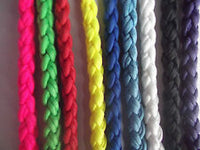 "50"" Chunky Braided Paracord Slip Lead Plain"