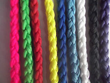 "25"" Chunky Braided Paracord Lead Plain"