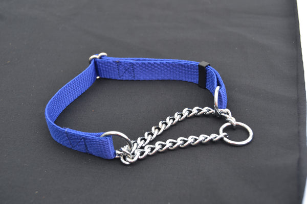 M 19mm Adjustable Half Check Dog Collar
