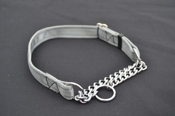 M 19mm Cushion Web Half Check Collar